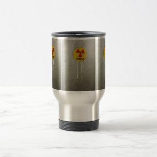 radioaktiv kontaminiert edelstahl thermotasse