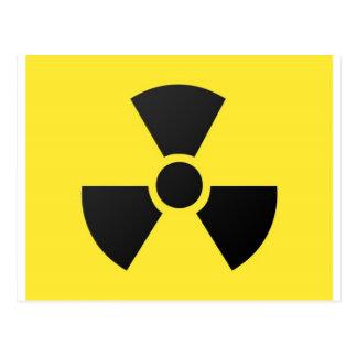 Radioaktiv Postkarte