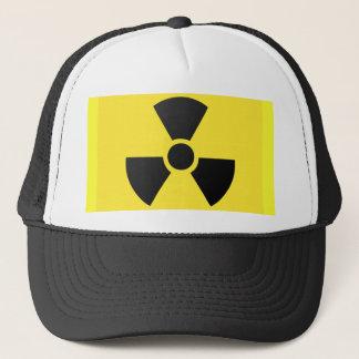 Radioaktives Zeichen Truckerkappe