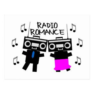 Radioromance Postkarte
