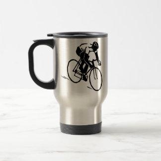 Radsport Fahrrad Biker Edelstahl Thermotasse