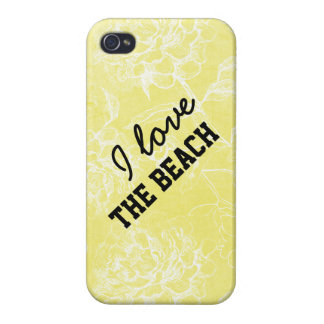 Rae: Liebe I der Strand BlumeniPhone 4 Fall iPhone 4/4S Hülle