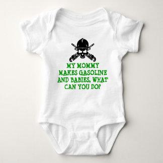 Raffinerie-Leben - Babygang für Mamma Baby Strampler