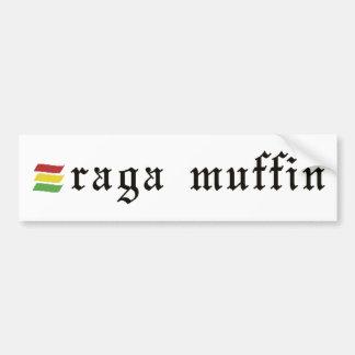 Raga Muffin-Aufkleber Autoaufkleber