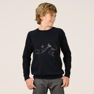 Raglan-Sweatshirt der Kinder amerikanisches Sweatshirt