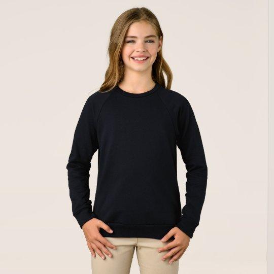 Mädchen Raglansweatshirt