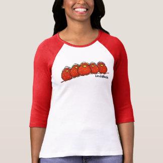 Raglan-T-Shirt die Hülse der Frauen 3/4 T-Shirt