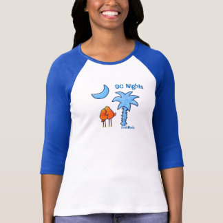 Raglan-T-Shirt die Hülse LimbBirds Frauen 3/4 T-Shirt