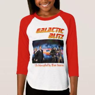 Raglan-T-Stück der galaktischen T-Shirt