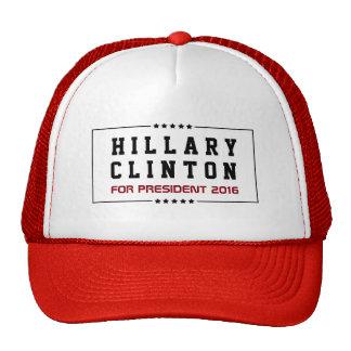 Rahmen   spielt Hillary Clintonwahl 2016 die Trucker Caps