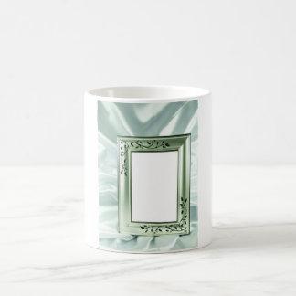Rahmenentwurf der silbernen Hochzeit Kaffeetasse