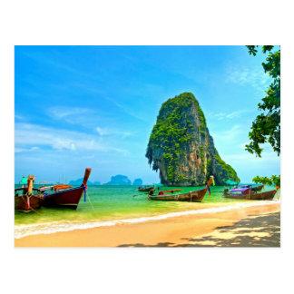 Railay Strand Thailand Postkarte