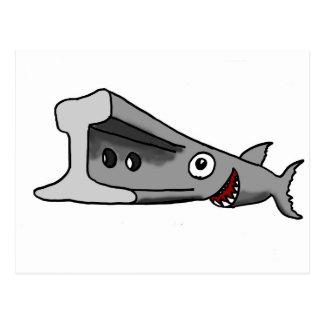 Railfish Postkarte