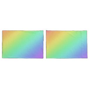 Rainbow Gradin Pillowcases Kissenbezug