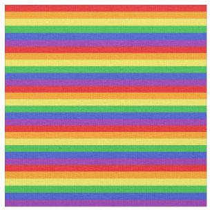 Rainbow-Muster Stoff