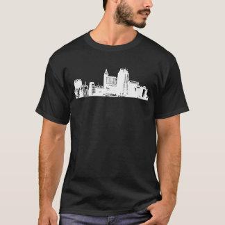 Raleigh - 919 (weißes Logo) 2 mit Seiten versehen T-Shirt
