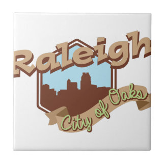 Raleigh-Stadt der Eichen Keramikfliese