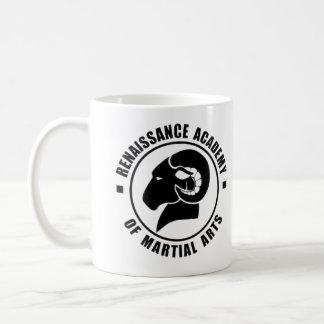RAM Kaffee-Tasse, schwarzes Logo Kaffeetasse
