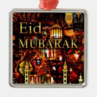 Ramadan-Karte 3 Silbernes Ornament