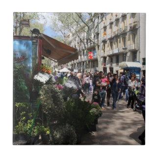 Rambla, Barcelona Fliese