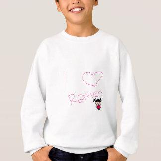 Ramen-Mädchen Sweatshirt