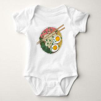 Ramen-Nudel-Schüssel-japanischer Baby Strampler