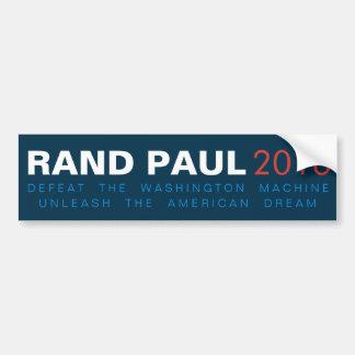 Rand Paul binden den amerikanischen Traum los Autoaufkleber