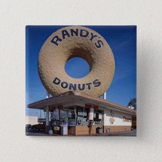 Randys Schaumgummiring-Kalifornien-Architektur Quadratischer Button 5,1 Cm
