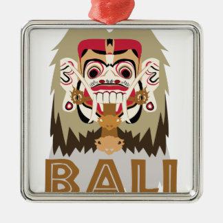 Rangda Bali Silbernes Ornament
