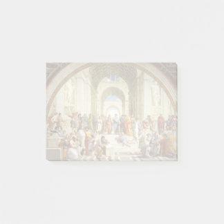 RAPHAEL - Die Schule von Athen 1511 Post-it Klebezettel