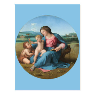 RAPHAEL-Renaissance-Kunst Madonna alba Postkarte