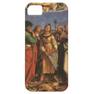 Raphael St Cecilia, St Paul, évangélistes de John Coque Case-Mate iPhone 5