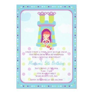 Rapunzel Geburtstags-Einladung 12,7 X 17,8 Cm Einladungskarte