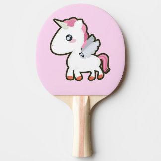 Raquette De Ping Pong Licorne de Kawaii