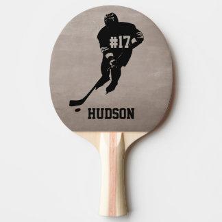 Raquette De Ping Pong Palette personnalisée de ping-pong d'hockey