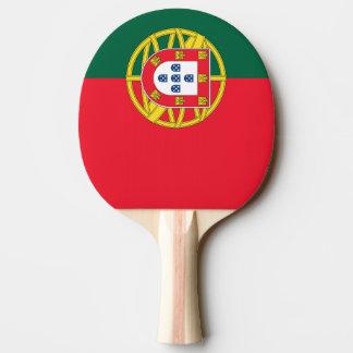 Raquette De Ping Pong Qualité portugaise de drapeau