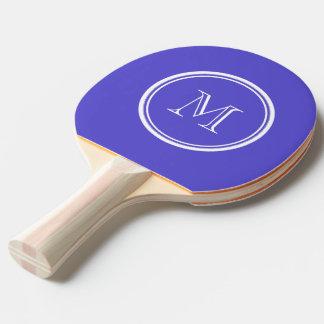 Raquette Tennis De Table À extrémité élevé d'iris coloré personnalisé
