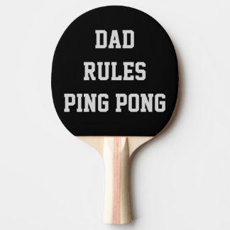 Raquette Tennis De Table Le papa ordonne le double personnalisé par