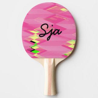 Raquette Tennis De Table Palette de ping-pong de conception de zigzag de