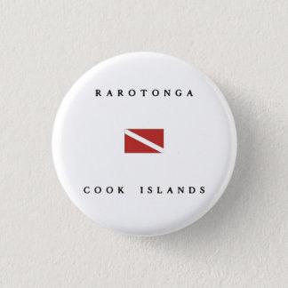 Rarotonga Runder Button 3,2 Cm