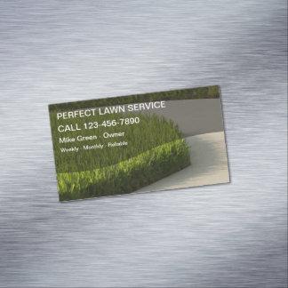 Rasen-mähende Geschäfts-Magneten Magnetische Visitenkarten