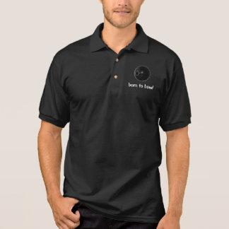 Rasen rollt, kurzes Mattenschüssel-Polo-Shirt Polo Shirt