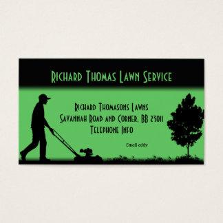 Rasen-Service-LandschaftsVisitenkarte Visitenkarten