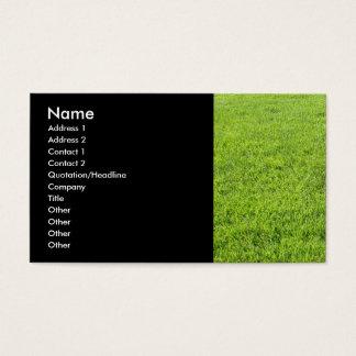 Rasen-Sorgfalt Visitenkarte