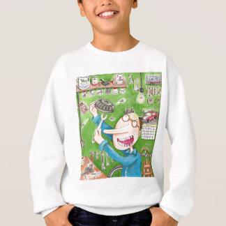 Rasenmäher-Verlegenheit Sweatshirt