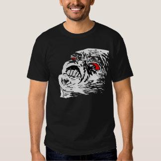 Raserei-Gesicht Hemd