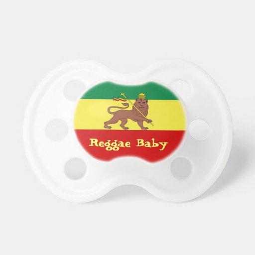 Rasta Reggae-Löwe des Judah Reggae-Babys Schnuller