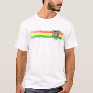 Rasta Reggae-Schild von David T-Shirt