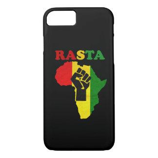 Rasta schwarze Power-Faust über Afrika iPhone 7 iPhone 8/7 Hülle