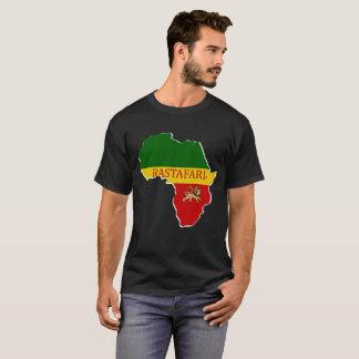 Rastafarian Designer-Karten-Namensmarken-T - Shirt
